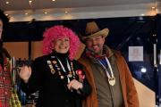 Monheimer Karnevalisten zu Besuch in Benrath 2013