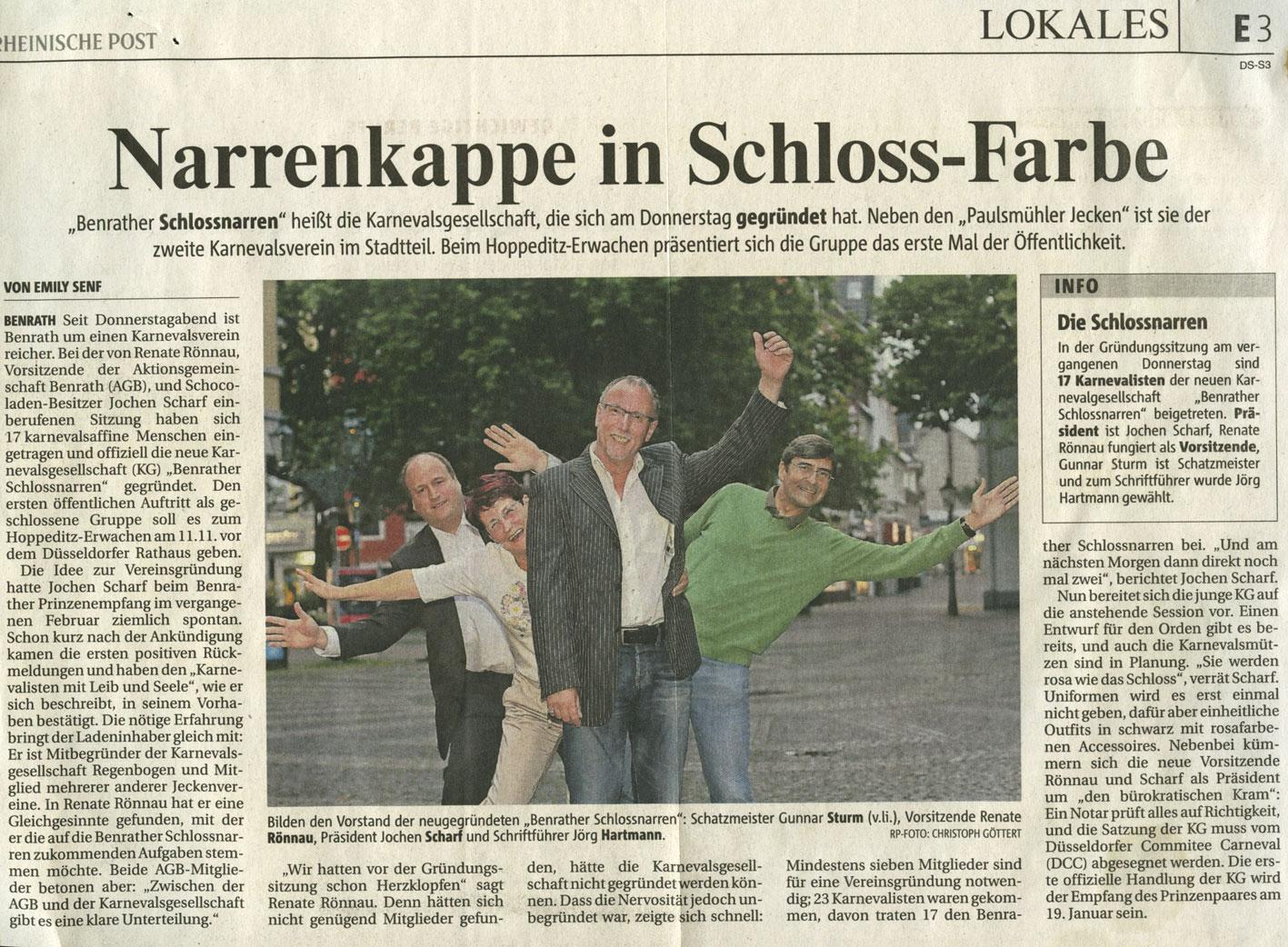 Rheinische Post 21.07.2012