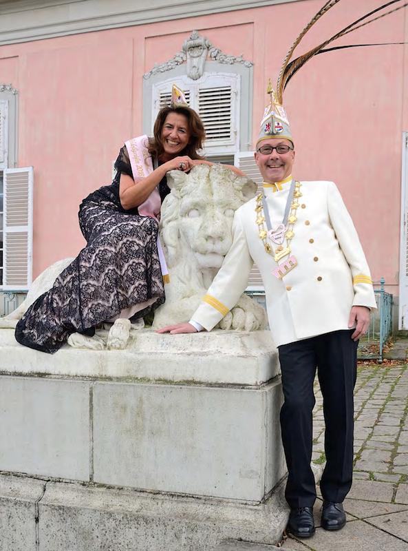 Das Schlossgrafenpaar der Session 2016/2017 - Thomas Reupert und Nicole Mummert